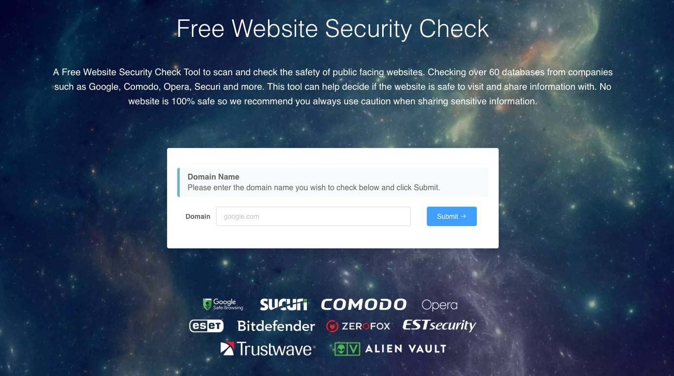 Free Website Security Check