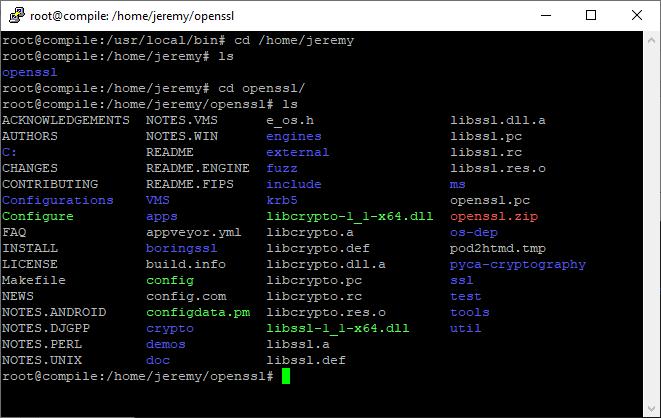 OpenSSL Folder