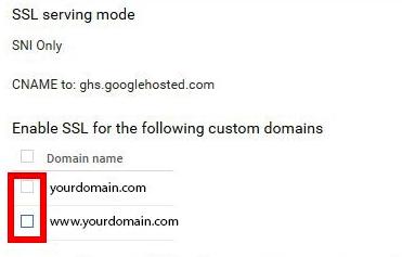 GCP enable ssl