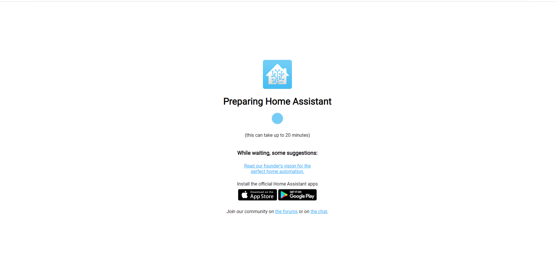 prepare home assistant