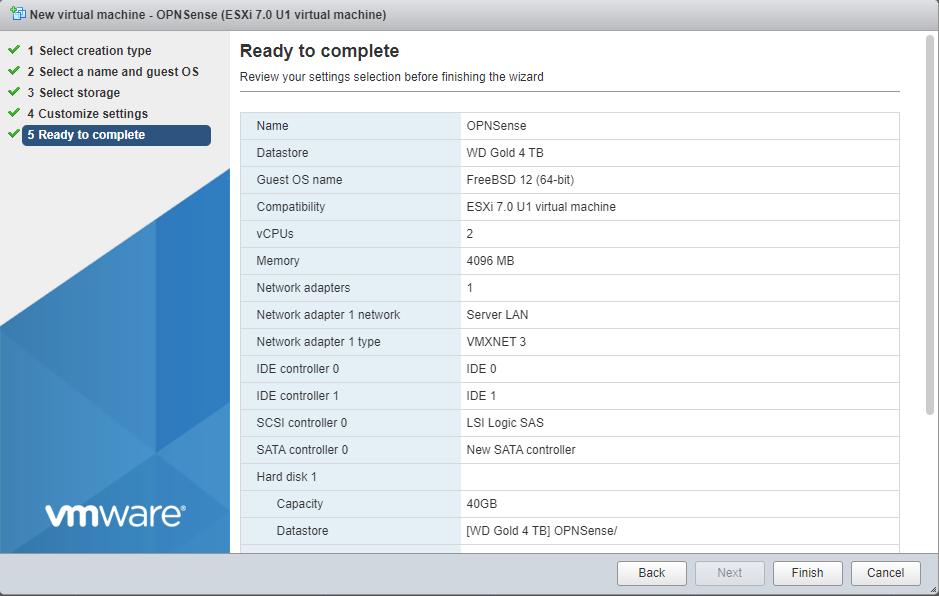 OPNSense VM Complete