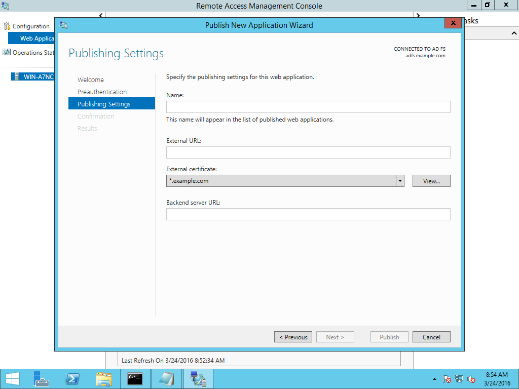 Setup Reverse Proxy on Windows Server: ARR in IIS and the