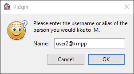 pidgin username