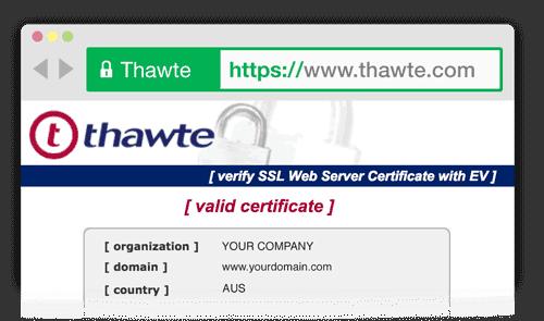 Thawte Inc Site Seal